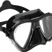 Matrix Cressi sub маска с двумя иллюминаторами, Коробка, Чёрный фото
