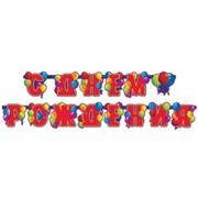 Гирлянда-буквы С Днем Рождения Шары 240см Д фото