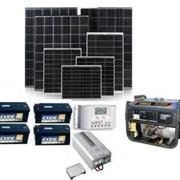 """Выбор комплектующих оборудования и систем для сетевых станций, работающих по """"зелёному"""" тарифу, систем автономного электроснабжения и автономного уличного освещения. фото"""
