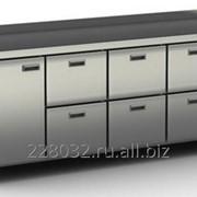 Стол холодильный / морозильный Cryspi серия 600 с ящиками и дверью СШС-6,1-2300 фото