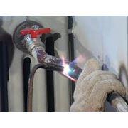 Монтаж радиаторов системы отопления фото