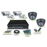 Комплект для видеонаблюдения pr-002-a четырёхканальный фото