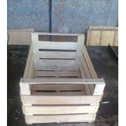 Ящики деревянные тарные. Ящики шпоновые для яблок фото
