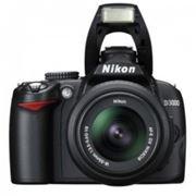 Nikon D3000 kit 18-55 Black фото