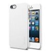 Пластиковая накладка SGP Ultra Thin Air Series для Apple iPhone 5 / 5S (+пленка) (Белый / Smooth White) фото
