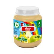 Пюре из яблок и банана без сахара Gamma BIO фото