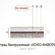 Матрац беспружинный Коко-Фаворит 1 м.кв фото