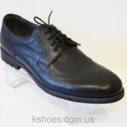 Мужские синие туфли Sensor 844 фото