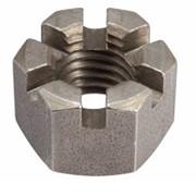 Гайка корончатая DIN935, диаметр M42 фото
