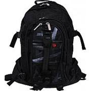 Городской рюкзак Bagland 'Метеорит' 0014770 черный фото