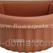 Горшок для цветов навесной, настенный, 37*24см,8003 102595 фото