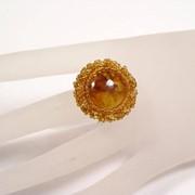 Кольцо из янтаря 50002-aw фото