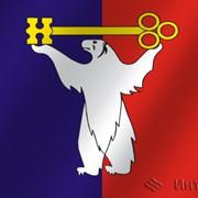 Флаг города Норильск (Красноярский край) фото
