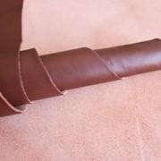 Натуральная кожа для обуви и кожгалантереи коричневая арт. СК 1158 фото