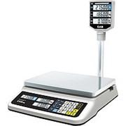 Торговые весы CAS PR-6P LCD, II USB фото