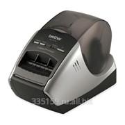 Принтер этикеток Brother QL570R1, ширина ленты 12 - 62 мм, до 110 мм/с, разрешение 300 точек/дюйм фото