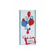"""Конверт для денег Стильная открытка """"С Днём Рождения!"""", ручная работа, 5КР-541 фото"""