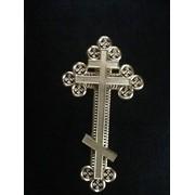 Крест православный ажурный к крышке гроба фото