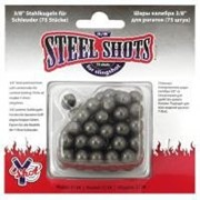 Стальные шарики для стрельбы с рогатки. 10 мм. фото