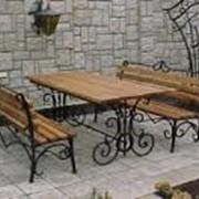 Кованная мебель для сада, дачи Херсон фото
