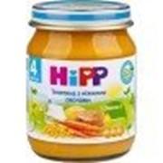 Пюре Hipp Телятина с нежными овощами, с 4 мес 125 гр фото