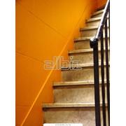Монтаж лестницы фото