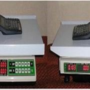 Многофункциональные торговые весы `ВР-05МС-АВР` с индикацией — масса, цена, стоимость. фото