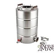 """Куб Добровар 23 литров ТЭН-кламп 2"""" 5 шпилек фото"""
