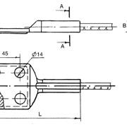 Зажим аппаратный прессуемый А4А-70-8 фото