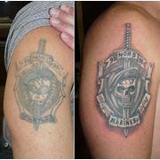 Исправление татуировки (Cover-up) фото