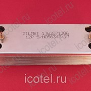 Пластинчатый теплообменник котла Protherm Lynx, Jaguar на 12 пластин 17B2071206 фото