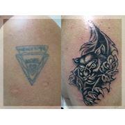 Реставрация татуировок фото