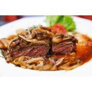 Доставка блюд с баранины - Седло барашка на гриле фото