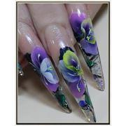 Курсы росписи ногтей. фото