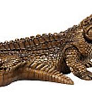 Символ упорства и стойкости / Статуэтка Крокодил 28х13х18см. арт.МК1010 фото