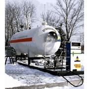 Установка заправочная стационарная для сжиженого углеводородного газа типа УЗС фото