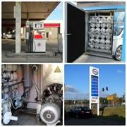 Газовая заправочная станция, компримированный газ, АЗС фото