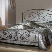 """Итальянская кованая кровать """"LENORA"""" фото"""
