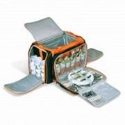 Набор для пикника: Термосумка 28л + набор посуды на 6 персоны BBQ-303 фото