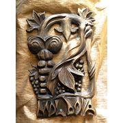 Сувенирное панно из дерева