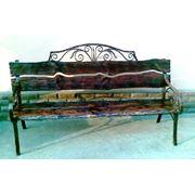 Металлоизделия: скамейки качели вешалки подставки фото