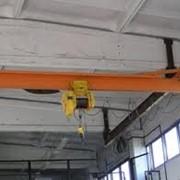 Кран мостовой одно балочный подвесной фото