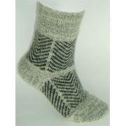 Носки вязаные шерстяные фото