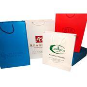 Пакеты с логотипом бумажные фото