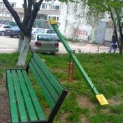 Мебель кованая уличная в МолдовеСкамьяКачели в Молдове фото
