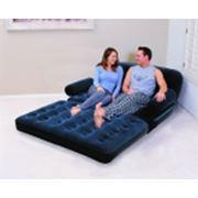 Многофункциональный надувной диван фото