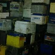 Утилизация отработанных батарей свинцовых аккумуляторов. фото