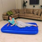 Кровать надувная полуторная фото