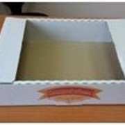Гофролотки для кондитерских изделии (телевизоры) фото