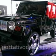 Портативная акустика колонка машинка WS-899 Jeep с FM и MP3 фото